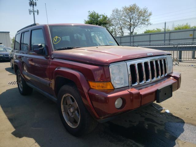 Salvage cars for sale from Copart Brookhaven, NY: 2008 Jeep Commander