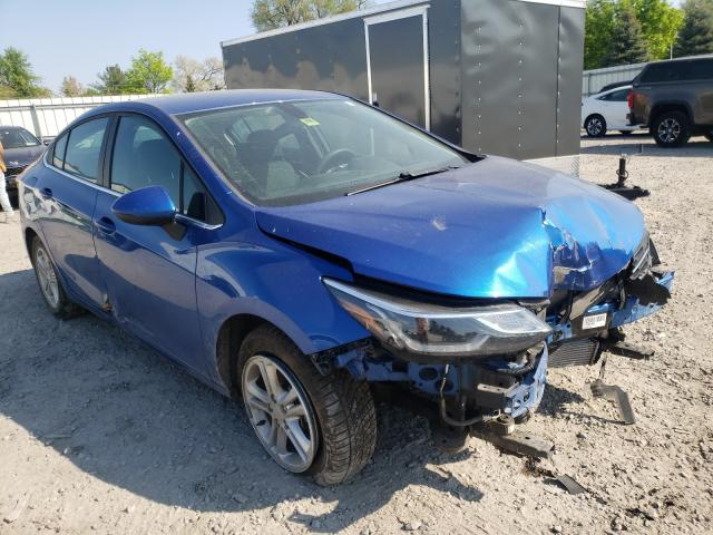Salvage 2018 CHEVROLET CRUZE - Small image. Lot 43681061