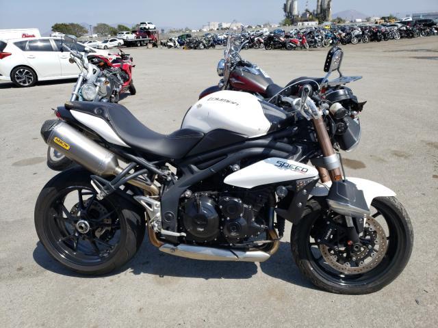 Vehiculos salvage en venta de Copart San Diego, CA: 2012 Triumph Speed Trip