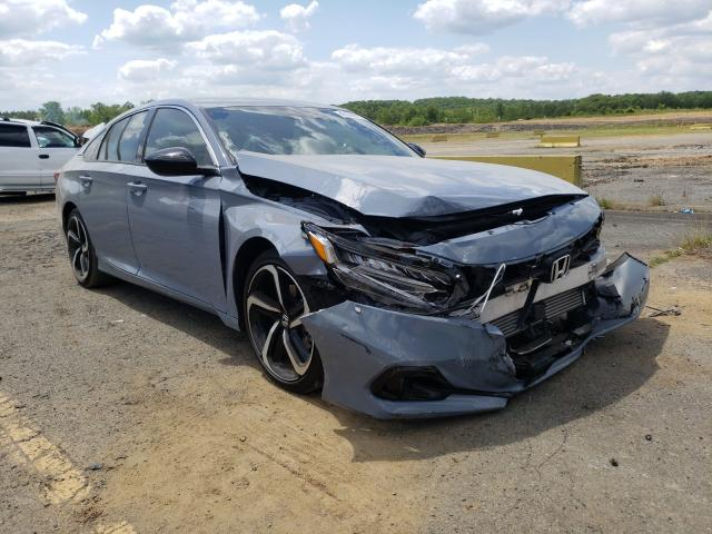 Salvage cars for sale from Copart Concord, NC: 2021 Honda Accord Sport