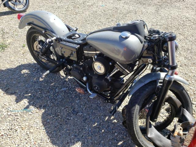 Salvage cars for sale from Copart Anderson, CA: 2015 Harley-Davidson Fxdb Dyna