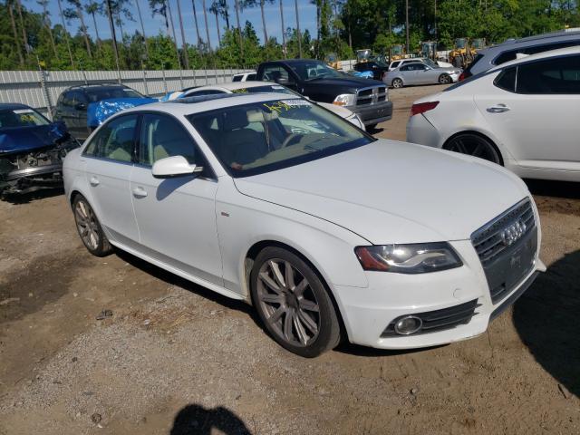 Audi salvage cars for sale: 2012 Audi A4 Premium