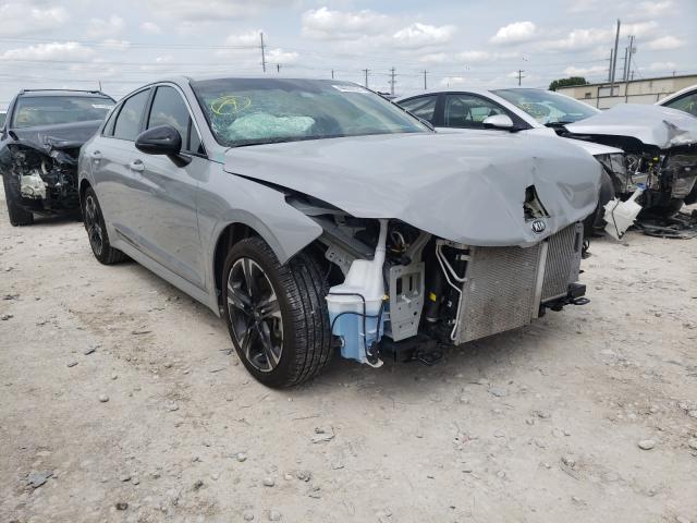 KIA Vehiculos salvage en venta: 2021 KIA K5 GT Line