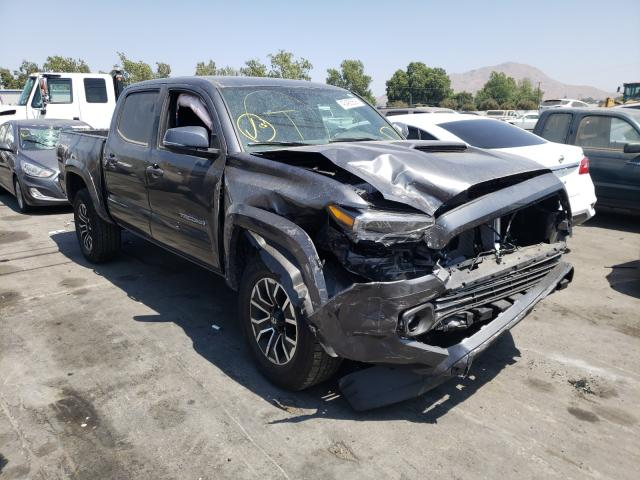 Salvage cars for sale from Copart Colton, CA: 2021 Toyota Tacoma DOU
