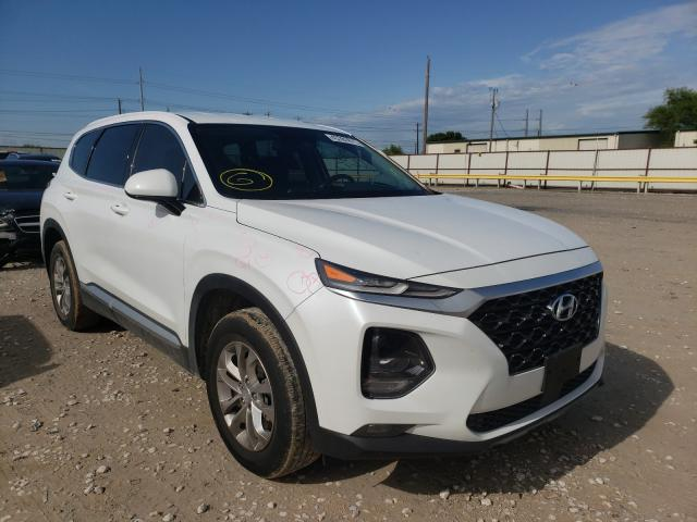 Salvage cars for sale from Copart Haslet, TX: 2019 Hyundai Santa FE S