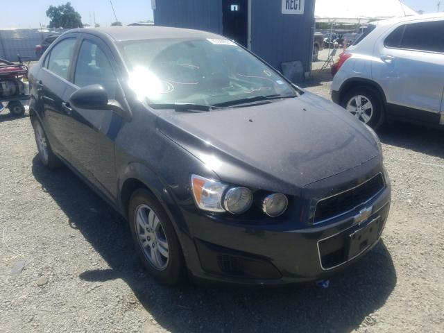 Salvage cars for sale from Copart Antelope, CA: 2016 Chevrolet Sonic LT