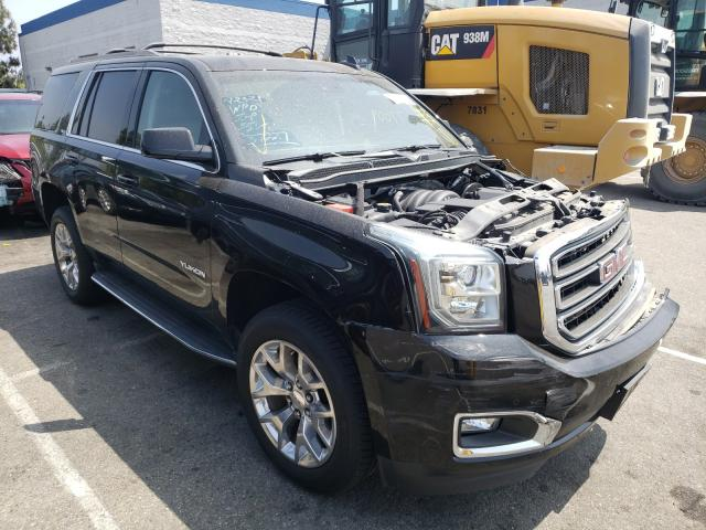 Salvage cars for sale from Copart Rancho Cucamonga, CA: 2016 GMC Yukon SLT