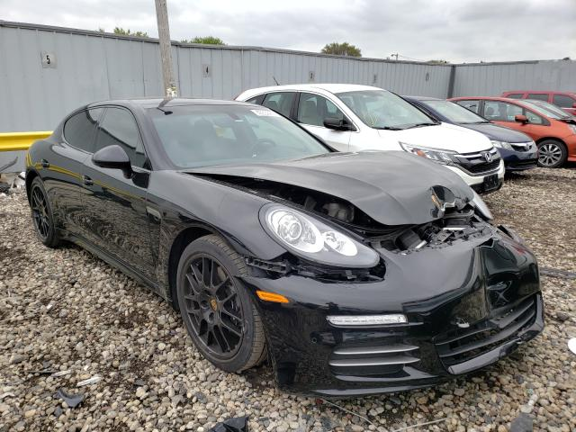 Salvage cars for sale from Copart Cudahy, WI: 2016 Porsche Panamera 2