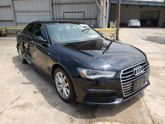 Salvage cars for sale from Copart Corpus Christi, TX: 2017 Audi A6 Premium