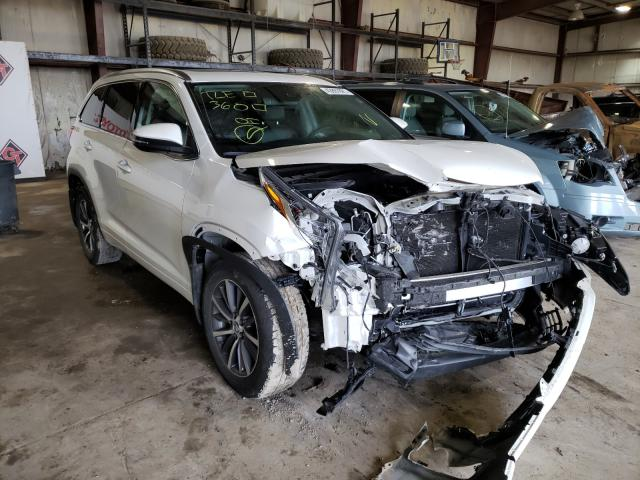 Salvage cars for sale from Copart Eldridge, IA: 2018 Toyota Highlander