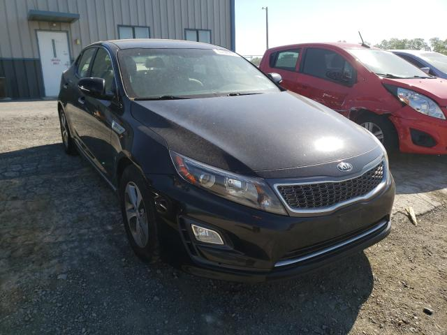 Salvage cars for sale from Copart Chambersburg, PA: 2015 KIA Optima Hybrid