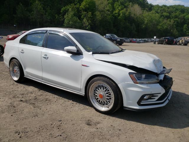 Salvage cars for sale from Copart Marlboro, NY: 2017 Volkswagen Jetta GLI