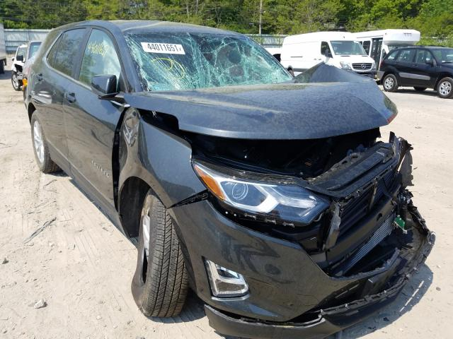 Salvage cars for sale from Copart Mendon, MA: 2021 Chevrolet Equinox LT