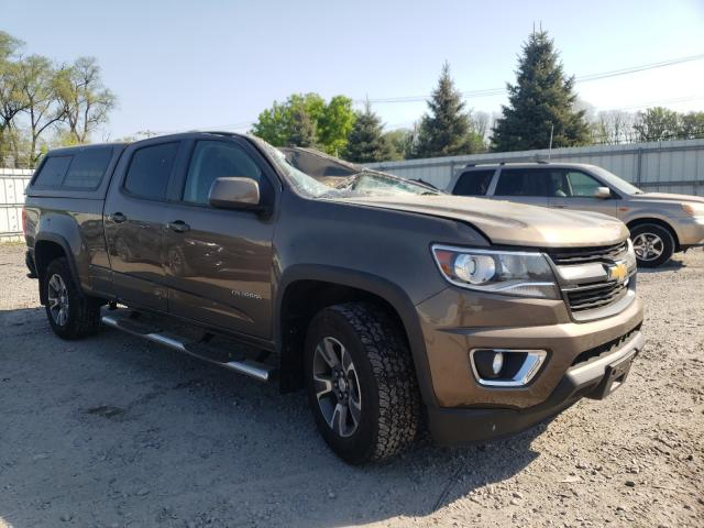 Salvage cars for sale from Copart Albany, NY: 2016 Chevrolet Colorado Z