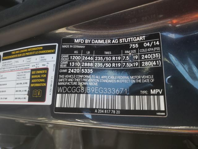 2014 MERCEDES-BENZ GLK 350 4M WDCGG8JB9EG333671