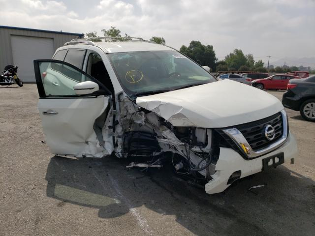 Salvage cars for sale from Copart Colton, CA: 2020 Nissan Pathfinder