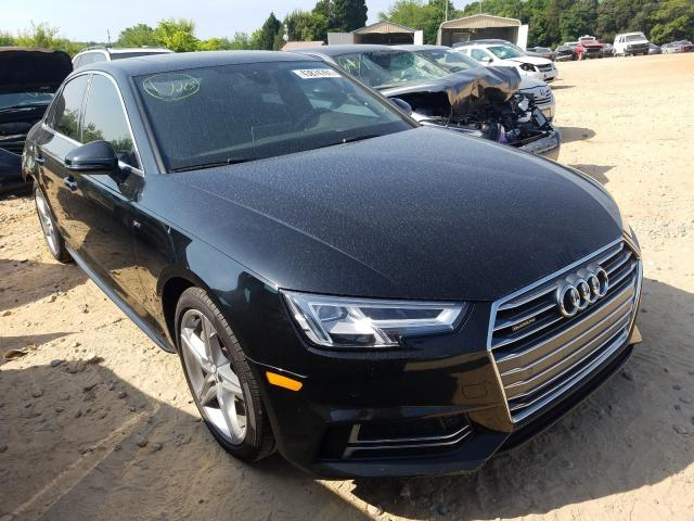Salvage cars for sale from Copart China Grove, NC: 2017 Audi A4 Premium