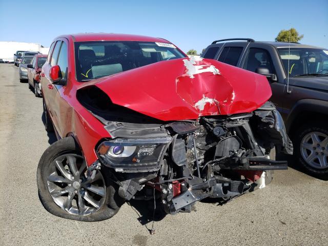 Vehiculos salvage en venta de Copart Martinez, CA: 2017 Dodge Durango GT