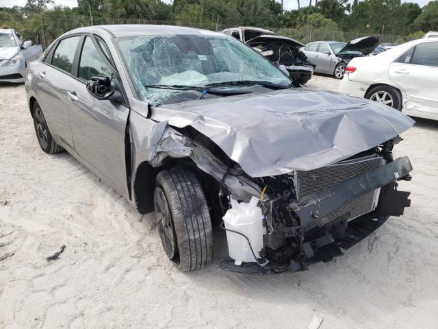 Salvage cars for sale from Copart Fort Pierce, FL: 2021 Hyundai Elantra SE