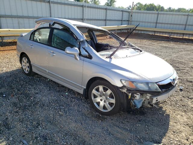Salvage cars for sale from Copart Chatham, VA: 2009 Honda Civic LX