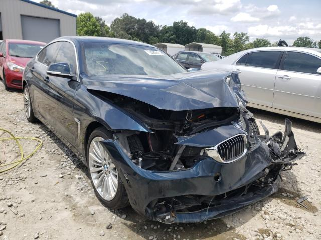 Salvage cars for sale from Copart Ellenwood, GA: 2015 BMW 428 I Gran