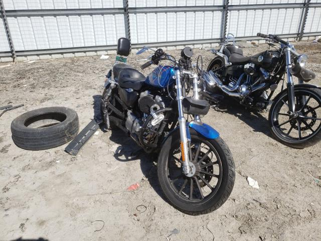 Salvage motorcycles for sale at Hampton, VA auction: 2004 Harley-Davidson XL883
