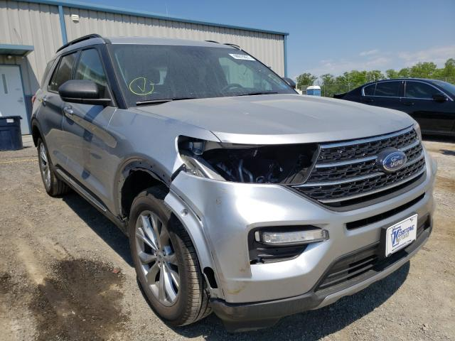 Salvage cars for sale from Copart Chambersburg, PA: 2021 Ford Explorer X