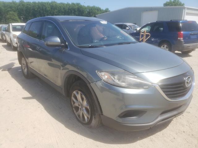 Salvage cars for sale from Copart Hampton, VA: 2013 Mazda CX-9 Touring