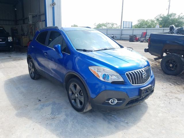 Salvage cars for sale from Copart Abilene, TX: 2014 Buick Encore CON
