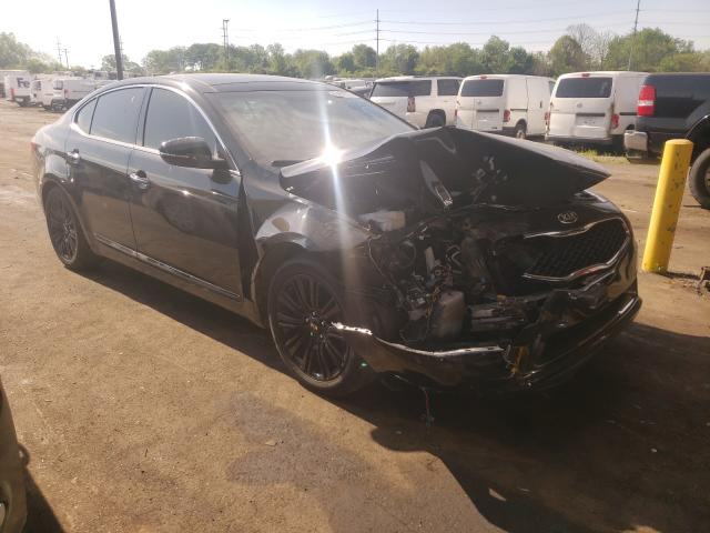 Salvage cars for sale from Copart Fort Wayne, IN: 2016 KIA Cadenza LU