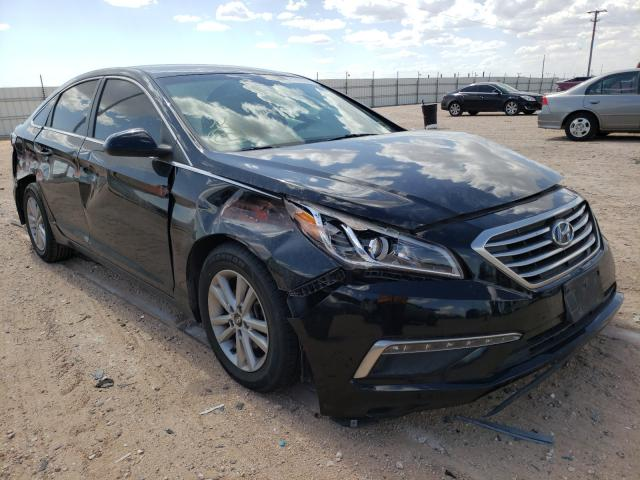 Salvage cars for sale from Copart Andrews, TX: 2015 Hyundai Sonata SE
