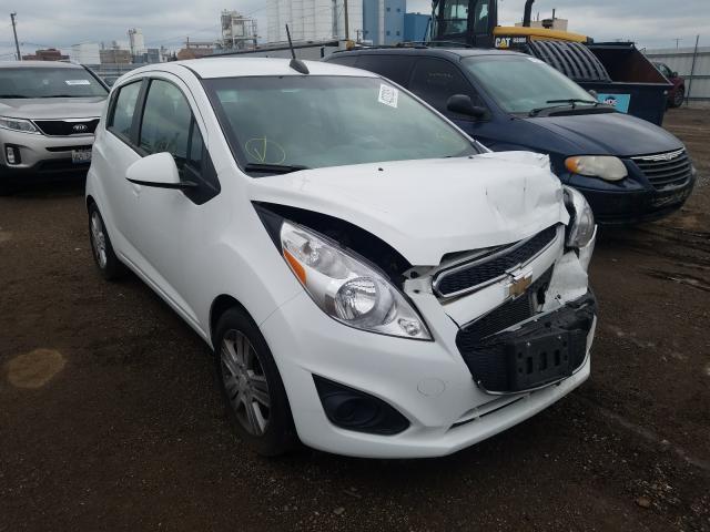 Chevrolet Spark 1LT salvage cars for sale: 2015 Chevrolet Spark 1LT