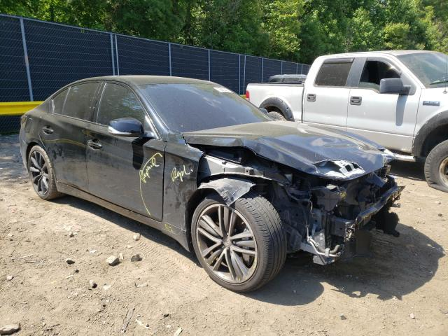Salvage cars for sale from Copart Waldorf, MD: 2014 Infiniti Q50 Base