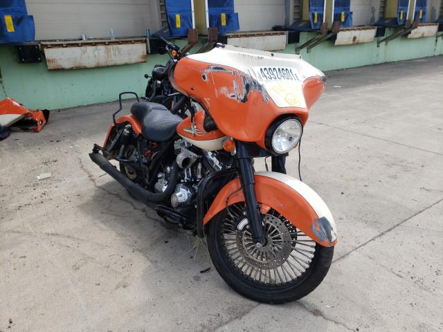 Salvage motorcycles for sale at Columbus, OH auction: 2007 Harley-Davidson Flhx
