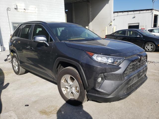 2021 Toyota Rav4 XLE en venta en Riverview, FL