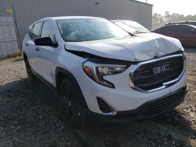 Salvage cars for sale from Copart Spartanburg, SC: 2018 GMC Terrain SL