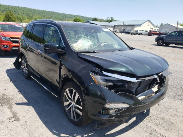 Salvage cars for sale from Copart Grantville, PA: 2016 Honda Pilot Touring