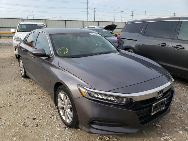 Salvage cars for sale from Copart Haslet, TX: 2018 Honda Accord LX