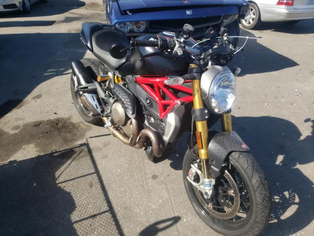 Salvage cars for sale from Copart Dunn, NC: 2014 Ducati Monster 12