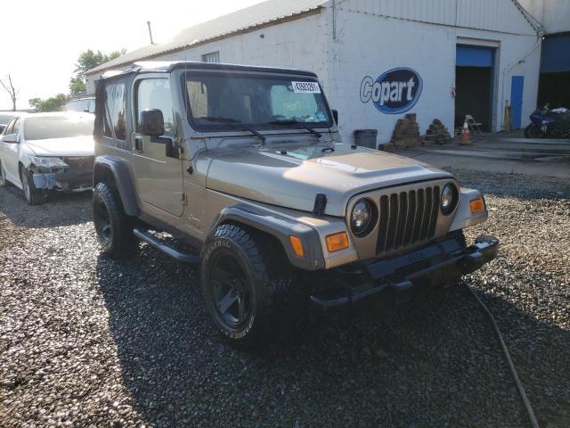 Vehiculos salvage en venta de Copart Hillsborough, NJ: 2005 Jeep Wrangler