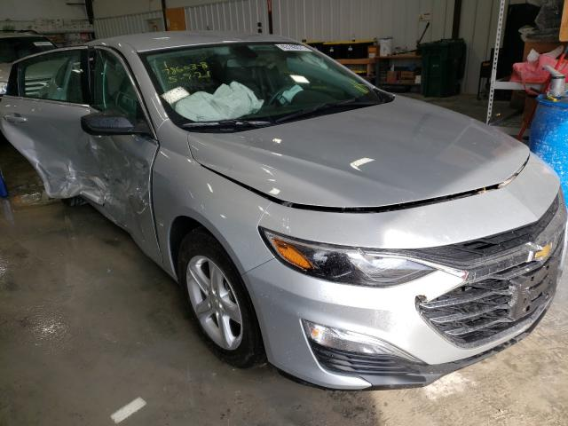 Salvage cars for sale from Copart Alorton, IL: 2021 Chevrolet Malibu LS