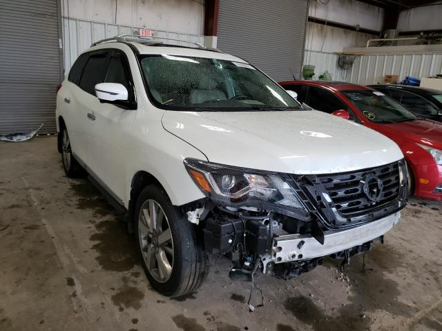 Salvage cars for sale from Copart Conway, AR: 2017 Nissan Pathfinder