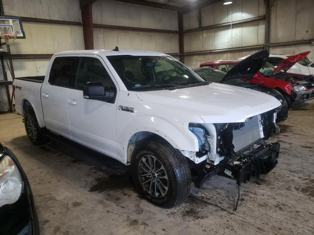 Salvage cars for sale from Copart Eldridge, IA: 2020 Ford F150 Super
