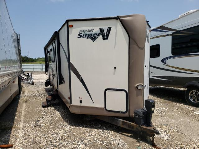Flagstaff Travel Trailer salvage cars for sale: 2016 Flagstaff Travel Trailer