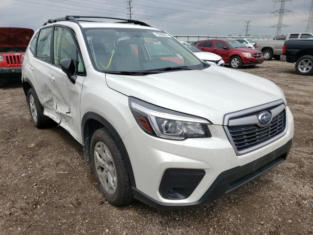 Salvage cars for sale from Copart Elgin, IL: 2019 Subaru Forester