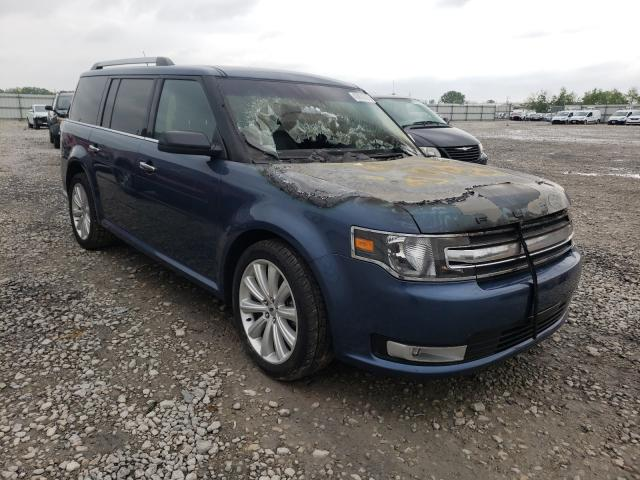 Salvage cars for sale from Copart Appleton, WI: 2018 Ford Flex SEL