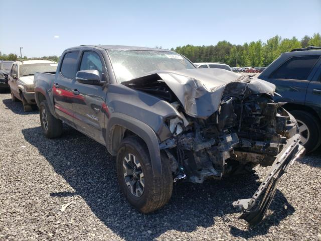 Salvage cars for sale from Copart Fredericksburg, VA: 2017 Toyota Tacoma DOU