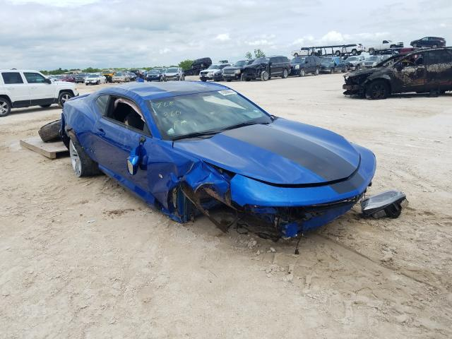 Salvage cars for sale from Copart Abilene, TX: 2017 Chevrolet Camaro LT