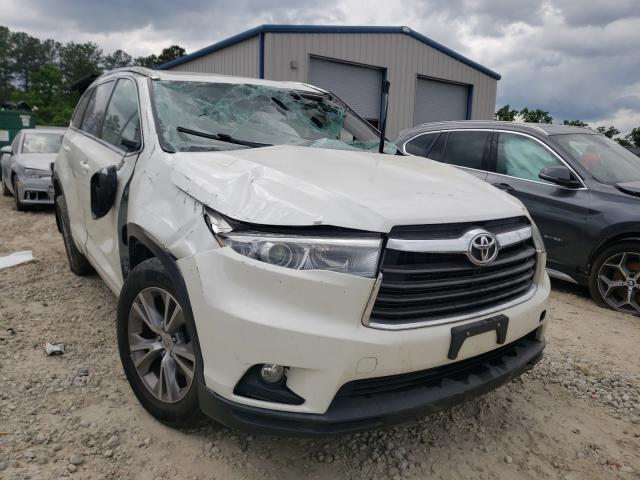 Salvage cars for sale from Copart Ellenwood, GA: 2015 Toyota Highlander