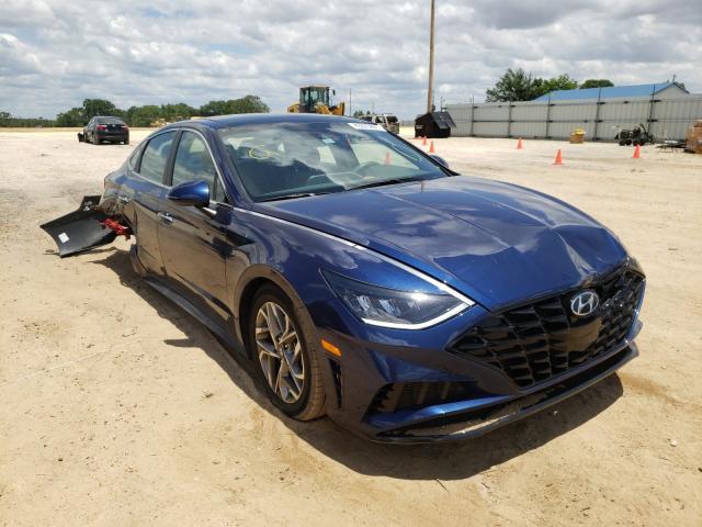 Salvage cars for sale from Copart Newton, AL: 2020 Hyundai Sonata SEL